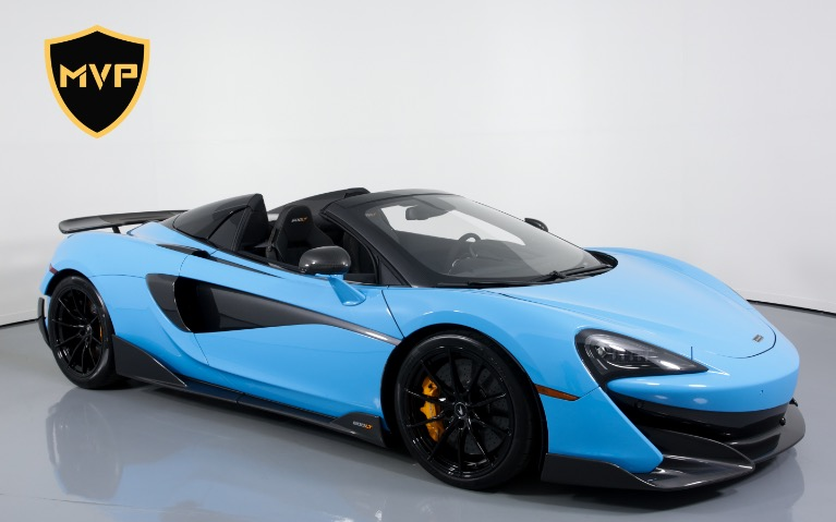 Used 2020 MCLAREN 600LT Spider for sale $1,299 at MVP Charlotte in Charlotte NC