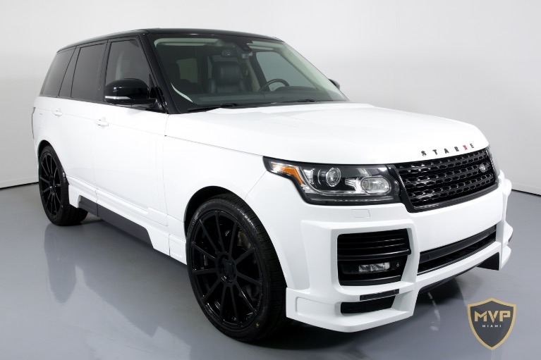 2014 LAND ROVER RANGE ROVER for sale Sold at MVP Charlotte in Charlotte NC 28217 2