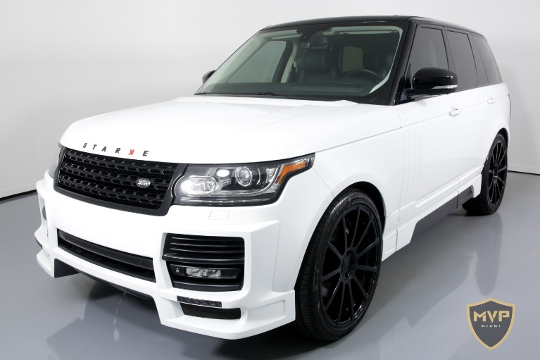 2014 LAND ROVER RANGE ROVER for sale Sold at MVP Charlotte in Charlotte NC 28217 4