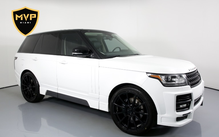 Used 2014 Land Rover Range Rover STARKE for sale $549 at MVP Charlotte in Charlotte NC