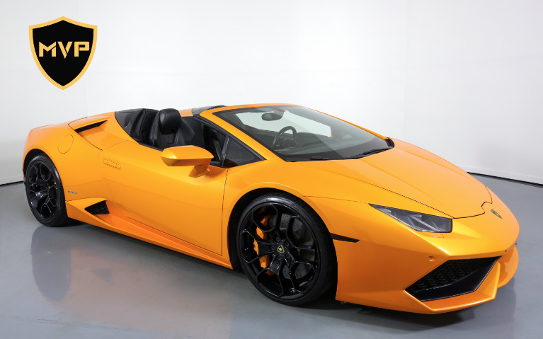 Used 2016 LAMBORGHINI HURACAN 610-4 SPYDER for sale $1,199 at MVP Charlotte in Charlotte NC