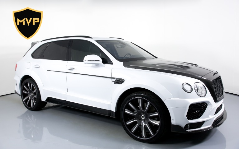 Used 2017 BENTLEY BENTAYGA W12 for sale $1,049 at MVP Charlotte in Charlotte NC