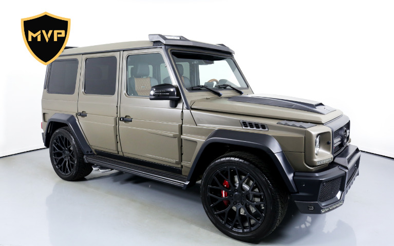 Used 2017 MERCEDES-BENZ G63 BRABUS for sale $645 at MVP Charlotte in Charlotte NC
