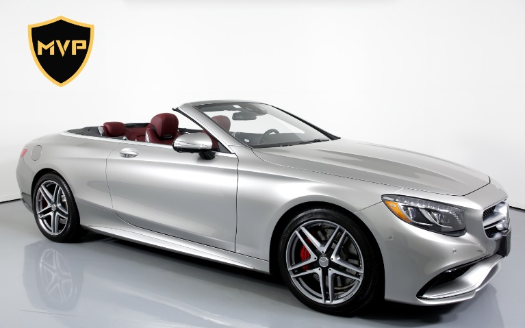 Used 2017 MERCEDES-BENZ S63 AMG CABRIOLET for sale $645 at MVP Charlotte in Charlotte NC