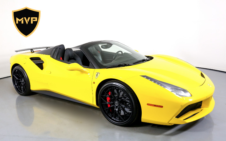 Used 2017 FERRARI 488 SPIDER for sale $1,599 at MVP Charlotte in Charlotte NC