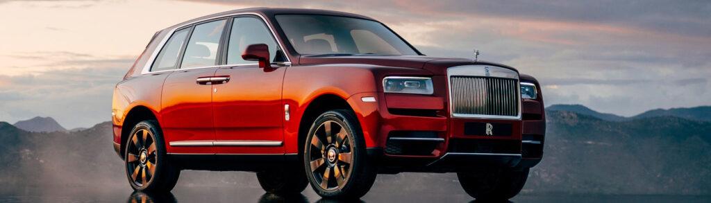 Red Rolls-Royce Cullinan